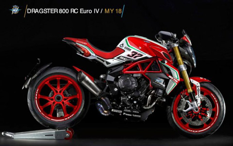 MV AGUSTA DRAGSTER RC MY18
